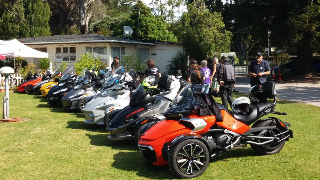 The Kiwi Spyder Ryders of Auckland... a family of over 300, and growing!