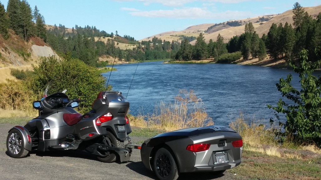 Clearwater River in Upper Idaho