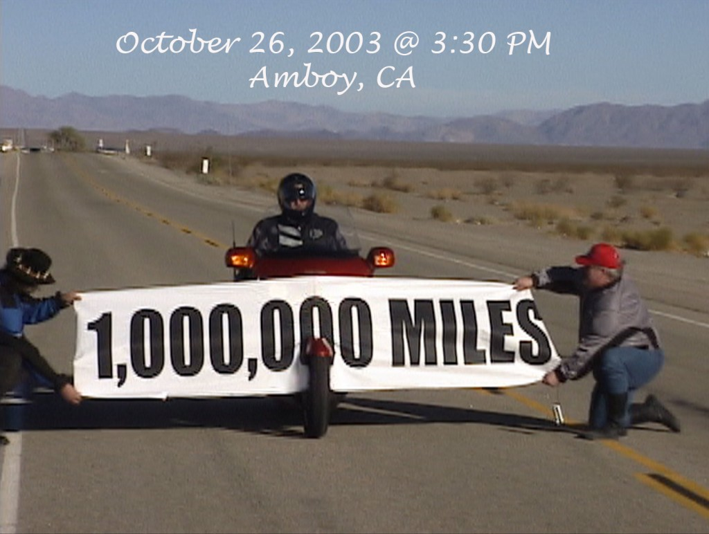 Million Mile barrier